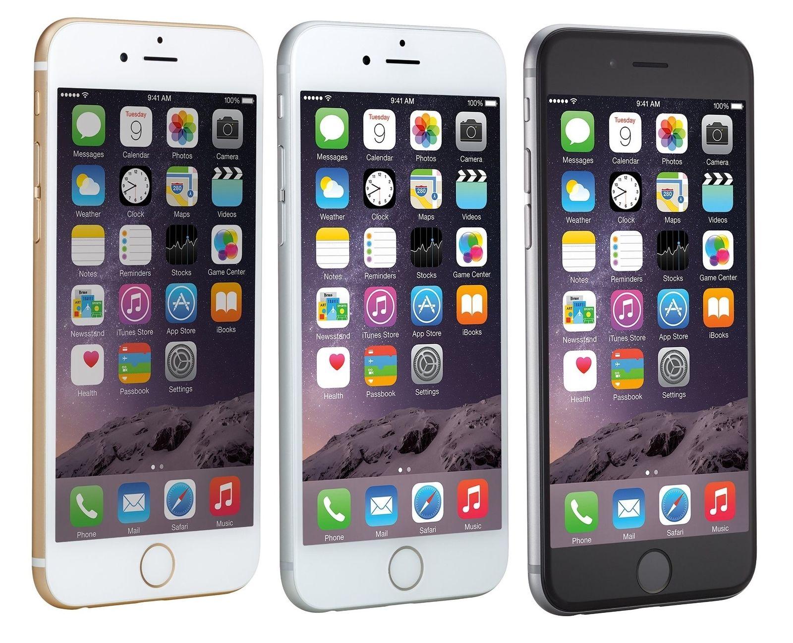 Apple Iphone 6 64gb At T T Mobile Metro Pcs Factory Gsm Unlocked Smartphone Ebay