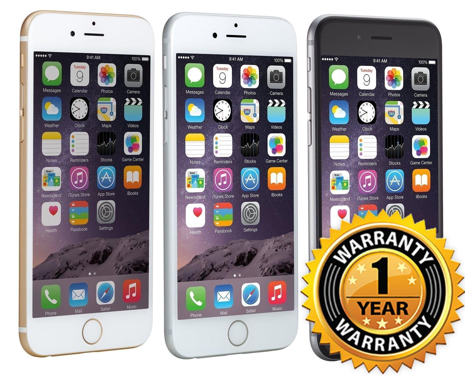 Apple iPhone 6 16GB GSM UNLOCKED 4.7