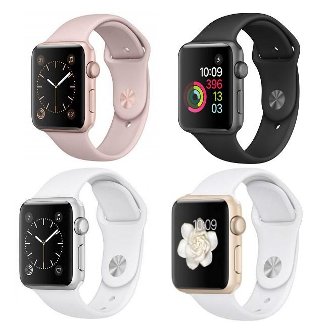 nuevo estilo 5f1b5 3b1cb Detalles de Reloj de Apple serie 2 - 38mm-Gps-Caja de Aluminio Banda de  deporte reloj inteligente-iOS- ver título original