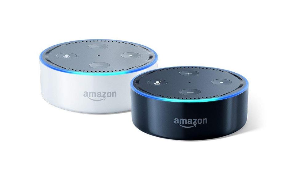Smart Assistant  with Alexa Amazon Echo Dot Black 2nd Generation